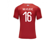 2018-2019 Serbia Home Puma Football Shirt (Milivojevic 16)