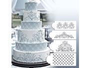 Wedding Kitchen Cookie Baking Tool Fondant Cake Border Stencil Damask Lace Flower Mould 9SIAH367S18733