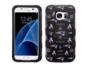 for Samsung Galaxy S7 Armor Impact Hybrid Cover Case New England Patriots #ML