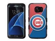 for Samsung Galaxy S7 Edge Armor Impact Hybrid Case Chicago Cubs #J