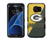 for Samsung Galaxy S7 Edge Armor Impact Hybrid Case Green Bay Packers #J