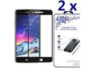 [2x] Full Curved HD Tempered Glass Screen Protector For LG K10 2017  / K20 PLUS 9SIV1RY7YW6558
