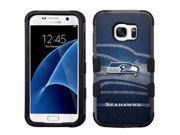for Samsung Galaxy S7 Armor Impact Hybrid Cover Case Seattle Seahawks #NBG