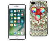 For iPhone 7/6/6S Plus Case TPU Protective Cover w/ LED Fidget Spinner Toy Beige