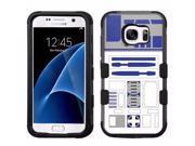 Star Wars Robot R2D2 Impact Hard+Rubber Hybrid Case for Samsung Galaxy S7