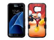 for Samsung Galaxy S7 Armor Impact Hybrid Cover Case Mickey Mouse #Y