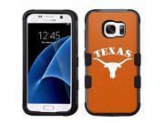 Texas Longhorns #O Impact Hard+Rubber Hybrid Case for Samsung Galaxy S7