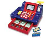Learning Resources Pretend & Play Teaching Cash Register Standard Packaging