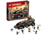 LEGO NINJAGO Masters of Spinjitzu: Dieselnaut 70654 Ninja Warrior Toy and Pla...