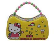 Sanrio Hello Kitty Tin Purse Box with Beaded Handle (Yellow) (9SIAHBU8HF8050 B016CBHFSK GENERIC) photo