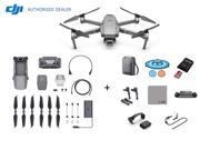 DJI Mavic 2 Pro Drone Quadcopter Combo with Hasselblad Camera, 64GB Micro SD, Carrying Case, Landing Pad, Propeller Holder (US Version)