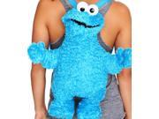 Sesame Street COOKIE MONSTER Plush Backpack/Purse by Accesory Innovations (9SIAJXB9588474 A00N49GLJS Traditions (Generic)) photo