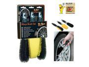 MR.KLEEN KLIN453 Alloy Wheel Brush 3 Pack Cleaning Car Care Garage Fender Bumper