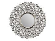 Ren-wil Andromeda Wall Decorative Mirror Framed Round Large