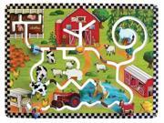 Kids Playroom Farm Activity Educational Fun Learning Wall Mounted Panel Toys 9SIV0031KU2205