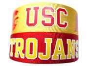 USC Trojans Slap Snap Wrap Wrist Band (Set of 2) NCAA 9SIV0035G23328
