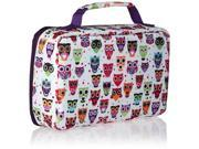 Fit & Fresh 841KFF221 Kids' Bento Hoot Box Lunch Set with Insulated Carry Bag 9B-96-587-006
