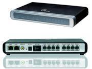 Grandstream GXW4008 IP Analog Gateway, 8 port Voip FXS, 2 RJ-45 ports IP-PBX