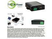 Tycon Power TP-SCPOE-1224 POE Solar Charge Cont. up to 130W panel Dual input