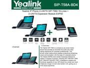 Yealink SIP-T58A IP Phone 2-UNITS Smart Media + 2-UNITS Expansion Module EXP50