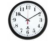 Chicago Lighthouse 13.75 Quartz Contract Clock Digital Quartz