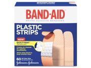 Johnson & Johnson JOJ5635 Adhesive Bandages- Plastic- .75- All One Size