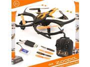 Zoopa Q 165 Riot - 6-Axis 2.4GHz Gyro RC Quadcopter Drone for Indoor & Outdoor Use - Includes Remote & Rechargeable Battery