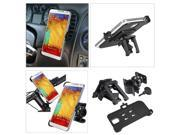 eForCity Car Air Vent Phone Holder with extra Bicycle Mount Compatible with Samsung Galaxy Note III N9000