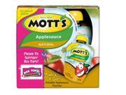 Mott's Snack & Go Natural Applesauce, 3.2 oz, 4 count Pack of 6 9SIV01F4AM7595