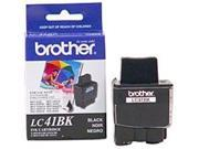 Brother LC41BK Inkjet Ink Cartridge - 500 Pages Yield - Black