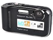 Sony Cyber-shot DSC-TF1/B 16.1 Megapixels Digital Camera - 4x Optical Zoom/5x Digital Zoom - 2.7-inch LCD Display - Built-in Flash - Black