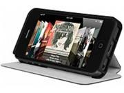 Incipio LGND Carrying Case (Folio) for iPhone - Obsidian Black - Plextonium