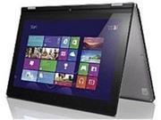 Lenovo IdeaPad Yoga 11S 59370508 11.6-inch Touchscreen Ultrabook PC - Intel Core i3-3229Y 1.4 GHz Dual-Core Processor - 4 GB DDR3 SDRAM - 128 GB Solid State Drive - Windows 8 64-bit - Silver Grey