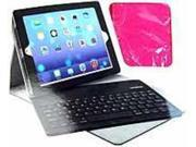 Merkury Innovations MI-BKCP1-678 Folio Case for IPad 2nd, 3rd & 4th Generation - Built-in Keyboard -  Pink