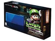 Nintendo CTRSBEAX 3DS System with Luigis Mansion: Dark Moon - Cobalt Blue