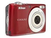 Nikon CoolPix 26240 L24 14 Megapixles Digital Camera - 3.6x Optical Zoom/4x Digital Zoom - 3.0-inch LCD Display - Red