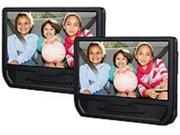 RCA DRC79981E 9-inch Dual Screen Portable DVD Player - Black