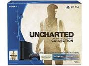 Sony 3001362 UNCHARTED The Nathan Drake Collection PS4 Bundle Game Pad Supported Wireless Black ATI Radeon Blu ray Disc Player 500 GB HDD Gigabit