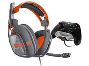 ASTRO Gaming FLF-00294 A40 Gaming Headset with MixAmp M80 - Xbox One - Orange, Dark Grey