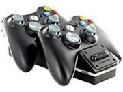 Nyko 86074 Wireless Game Controller Charging Stand for Xbox 360 - Black