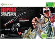 Activision 047875764118 76411 Rapala Pro Bass Fishing with Rod Peripheral - Xbox 360