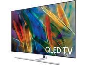 """Samsung 75"""" Class (74.5"""" Diag.) QLED 2160p Smart 4K Ultra HD TV with High Dynamic Range Black QN75Q7FAMFXZA"""