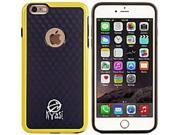 Kyasi KYDIMIP6C03 Dimensions Case for iPhone 6 - Black, Yellow 9SIV02W8010134