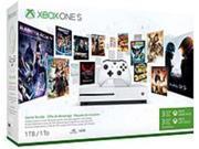 Microsoft Xbox One S 1TB Starter Bundle with 4K Ultra Blu-ray White 234-00347