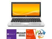 "HP EliteBook 2570p Intel i5 Dual Core 2800 MHz 320Gig Serial ATA 8192mb DVD-RW 12.0"" WideScreen LCD Windows 10 Professional 64 Bit Laptop Notebook"