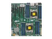 SUPERMICRO X10DRI-B Supermicro X10DRI-B Dual LGA2011 Intel C612 DDR4 SATA3 and USB3.0 V and 2GbE EATX Server Motherboard