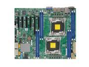 SUPERMICRO X10DRL-I-B Supermicro X10DRL-I-B Dual LGA2011 Intel C612 DDR4 SATA3 and USB3.0 V and 2GbE ATX Server Motherboard