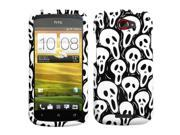 Screaming Ghosts Hard Snap on Protective Cover Case for HTC One S 9SIV05E3S61420