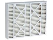 Electro DPFPC20X25X5-DEA Air Filter Merv 8,  Pack Of 2 9SIV06W2G46802
