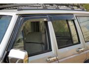Rugged Ridge 11351.20 Window Rain Deflectors, 84-01 Jeep Cherokee XJ 9SIV06W2GE9435